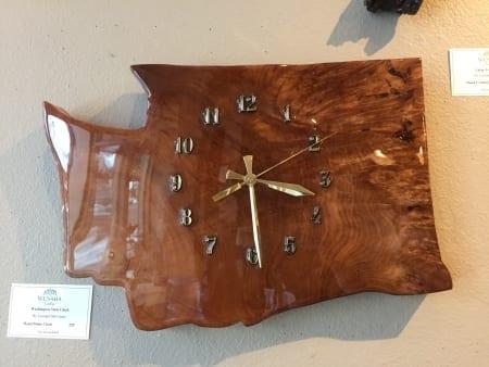 Washington State Clock