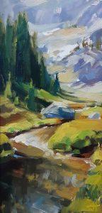 alpine stream wilderness mountains oregon steve henderson