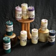 candles self love natural beeswax healing sierra faflik