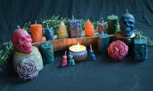 beeswax candles natural colorful sierra faflik gifts